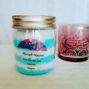 🌹2/$18 Clea Blue Bath Salts